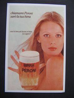 BIRRA PERONI Cartolina pubblicitaria (ristampa)