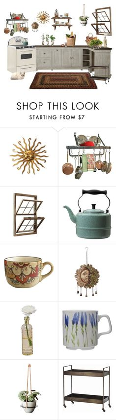 """""""What's cooking?"""" by faelike ❤ liked on Polyvore featuring interior, interiors, interior design, home, home decor, interior decorating, Enclume, Paula Deen, Pier 1 Imports and MABEL"""