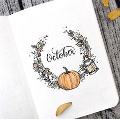 bullet journal octobre The largest collection of Halloween inspired bullet journal spreads, layouts, trackers and doodles for your Halloween bullet journal theme!