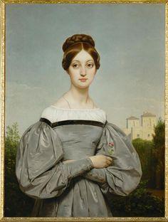 Emile-Jean-Horace Vernet - Portrait de Louise Vernet, fille de l artiste by  Irina Émile Jean-Horace Vernet June 1789 – 17 January was a French painter  of ... 06be1d2025c