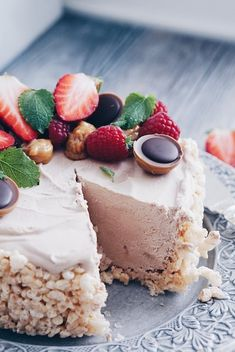 This domain may be for sale! Best Dessert Recipes, Fun Desserts, Cake Recipes, Cake Bites, Piece Of Cakes, Cakes And More, Rice Krispies, Granola, Cake Decorating