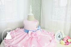 Hey, I found this really awesome Etsy listing at https://www.etsy.com/listing/107980808/pink-flower-fancy-baby-tutu-dress