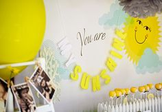 "We Heart Parties: ""You Are My Sunshine"" 1st Birthday Party?PartyImageID=456f228e-1459-4aab-b96b-b711191ebad3"