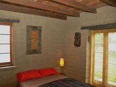 projects - building design - Studio Baobab Mudbrick bedroom
