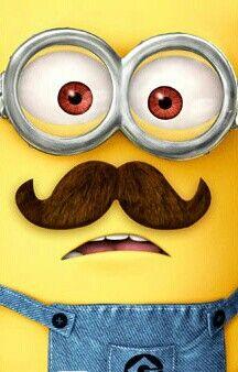Minion mustache!
