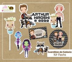 Kit Festa Guardiões