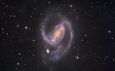 In the Arms of NGC 1097