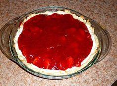 Creamy Strawberry Pie #justapinchrecipes