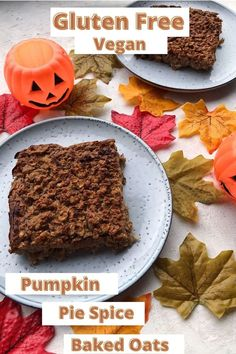 A seasonal version of the very popular baked oats trend. These pumpkin pie spice baked oats are super easy to make and taste delicious. Simple to adapt to any dietary requirements and make a great meal prep breakfast. Gluten free and vegan with an oat free option.