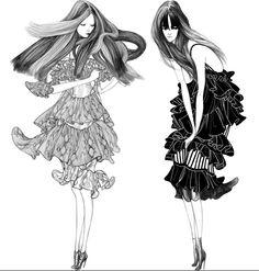 Fashion illustration // Laura Laine