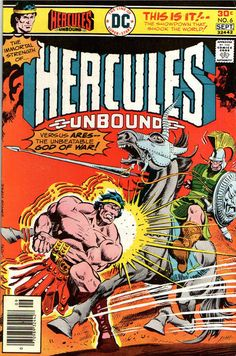 Cover for Hercules Unbound (DC, 1975 series) #6