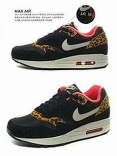 f10e221a24c3 2014 new Leopard nike air max 87men  women boots girl shoes-in Boots from