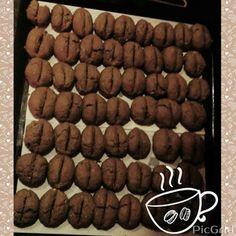 """Печенье """"Кофейные зёрна-двойной кофе"""""""