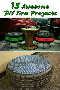 Instead of adding more garbage to our environment by throwing away old tires, why not take inspiration from these projects and transform old tires into amazing creations? Is one of these going to be your next project?