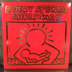 A Very Special Christmas Vinyl LP Keith Haring Cover Run Dmc U2 Madonna Bruce…