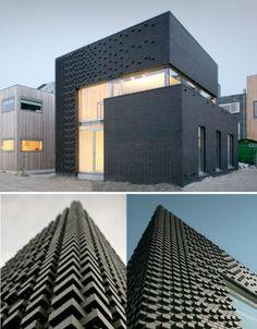 Monochromatic Architecture - Beautiful Black Buildings