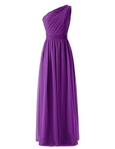 Yougao Women's One-shoulder Long Evening Party Dresses Beach Prom Gowns Purple US 4 Yougao http://www.amazon.com/dp/B019REW1LA/ref=cm_sw_r_pi_dp_.V1Wwb064XPC7
