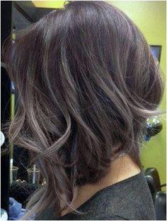 BEAUTIFUL  SILVER BULLET  on top of brunette hair