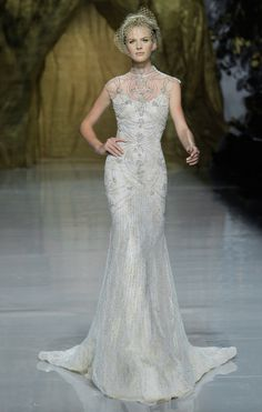 Pronovias Wedding Dress // Photos courtesy