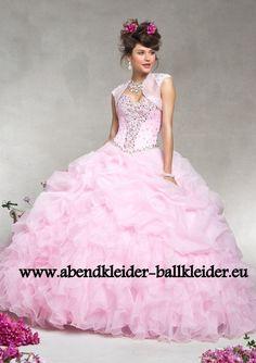 Abend - Ballkleid Brautkleid Online in Rosa