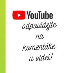 Odpovídáním na komentáře u Vašeho YouTube videa, můžete výrazně zvýšit Vaše šance na vyhledávání. Není to ale tak jednoduché. Víte proč? #youtube #komentar #marketing #onlinemarketing #penize #eshop #reklama Online Marketing, Youtube, Youtubers, Youtube Movies