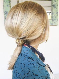 Peinado innovador! Inspirando en desfile de pablo Ramírez. Lulu Biaus para sedal blog