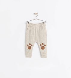 PAWPRINT LEGGINGS-Trousers-Baby boy (3 months - 3 years)-KIDS | ZARA United States