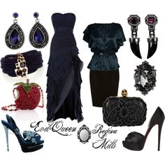 Evil Queen/ Regina Mills, created by bethygrace16 on Polyvore