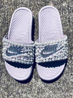 sale retailer 7e97e e2523 Women s Benassi JDI Swoosh Slide Sandals from Finish Line