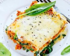 Lasagnes au saumon, épinards et mascarpone au four