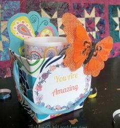 You are amazing dollar store appreciation gift, printable, candle, butterfly clip Appreciation Note, Quote Board, You Are Amazing, Sticky Notes, Dollar Stores, Butterfly, Printables, Candles, Teaching