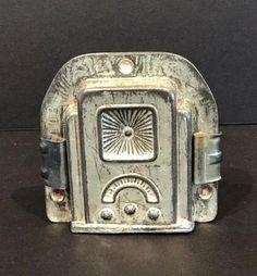 Art Deco Table Radio Chocolate Mold, C. 1930