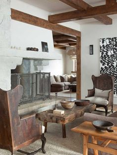 Slopeside chalet - desire to inspire - desiretoinspire.net / chairs. Oh, chairs.