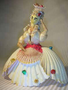 Shell Doll by component on Etsy, $6.50