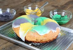 Get this tested recipe for gluten free King Cake for Mardi Gras! Celebrate with all your favorites. Don't do without just because you're gluten free!