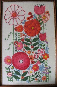 vintage embroidery.  so fun