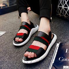 $23.90 (Buy here: https://alitems.com/g/1e8d114494ebda23ff8b16525dc3e8/?i=5&ulp=https%3A%2F%2Fwww.aliexpress.com%2Fitem%2F2016-New-Fashion-Men-Y3-Sandals-PU-Air-Cushion-Man-Casual-Mans-Footwear-Gladiator-Sandals-Shoes%2F32682139541.html ) 2016 New Fashion Men Y3 Sandals PU Air Cushion Man Casual Mans Footwear Gladiator Sandals Shoes Sandalias Hombre Zapatos Hombre for just $23.90