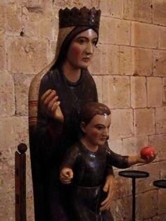 Presentazione restauro della scultura lignea della Madonna di Sant'Antimo