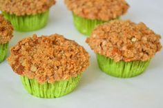 Oat Crumble Apple Pie Muffins