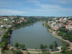 Bragança Paulista, São Paulo SP Brazil. The lake at day
