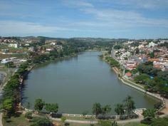 Bragança Paulista, São Paulo SP Brazil. The lake at day