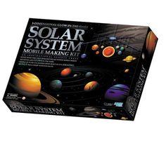 Stor Solar System Mobile Kit Solar System Mobile, Tobias, How To Make, Lily