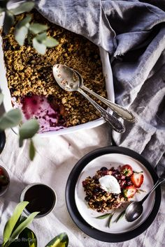 Granola, Ramen, Acai Bowl, Food Photography, Breakfast, Ethnic Recipes, Clean Eating, Vanilla, Sweets