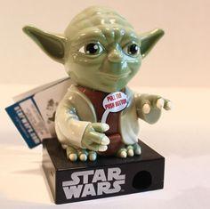 Star Wars Yoda Collectable Candy Pieces Dispenser X