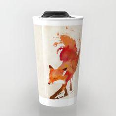 Vulpes vulpes Travel Mug