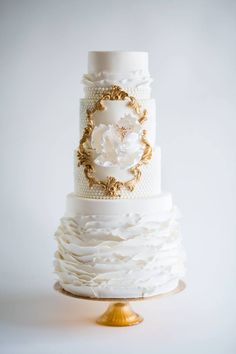 31 Super Chic Not Your Average Wedding Cakes. http://www.modwedding.com/2014/02/13/31-super-chic-wedding-cakes/