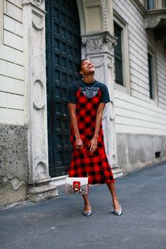 Tamu Mcpherson How to Wear A Slip Dress From Day To Night