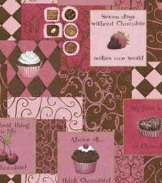 Chocolate love! #Fabric from @Susan Winget