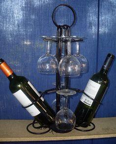 porta vino y copas - Buscar con Google