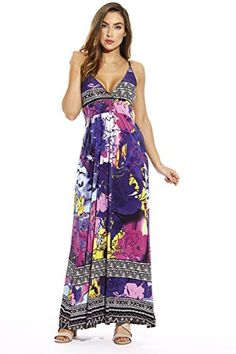 5074d47ef4 Just Love Maxi Dresses for Women   Summer Dresses at Amazon Women s  Clothing store